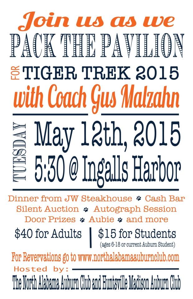 Tiger Trek 2015 Poster